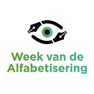 Logo Week van de Alfabetisering