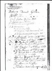 Handtekening RJG ledenlijst loge La Vertu
