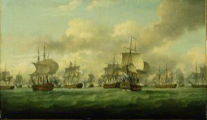 Slag bij Doggersbank, 5 augustus 1781